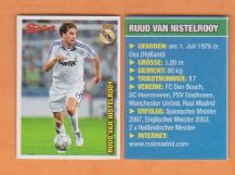 Real Madrid Ruud Van Nistelrooy Holland